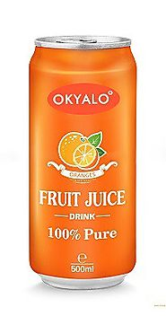 organic orange juice drink