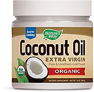Nature's Way Organic Extra Virgin Coconut Oil, 16 Ounce