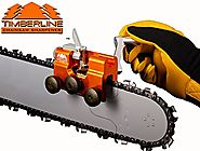 "Timberline Chainsaw Sharpener with 3/16"" Carbide Cutter (for .325"" pitch chains)"