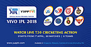 Vivo IPL 2018 Live Streaming | Watch Indian Premier League 2018 Online