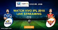 Watch SRH vs MI IPL 2018 Live on YuppTV