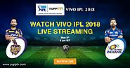Watch Mumbai Indians vs Kolkata Knight Riders IPL 2018 Live on YuppTV
