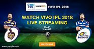 Watch Kolkata Knight Riders Vs Mumbai Indians Live on YuppTV