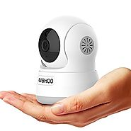 UOKOO uko1 Wireless IP Camera, 720P HD Home Wi-Fi Wireless Security Surveillance Camera with Motion Detection Pan/Til...