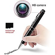 2K Hidden camera with 32GB GSmade Full HD 2K Spy Pen Camera HD Video Recording Pen
