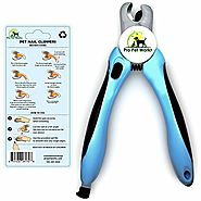 Pro Pet Works Dog Nail Clippers Trimmers With Nail File For Grooming Pets-Quick Guard Sensor Inc-The Best Dog Nail Tr...