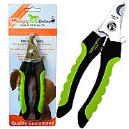 Large Dog Nail Clippers | Protective Guard, Safety Lock and Non Slip Rubber Handles Easy to use for Grooming and Nail...