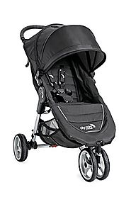 Baby Jogger 2016 City Mini 3W Single Stroller - Black/Gray