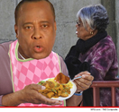 Dr. Conrad Murray -- Curries Favor with Mom