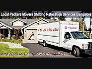 Packers and Movers Bangalore Local Shifting Charges Approx, Price Quotes, Cost,