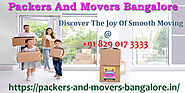 Your Moving Checklist For When You Have To Move On Last Minute: Packers Movers Bangalore