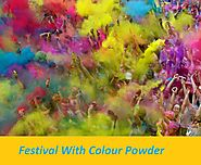 Gulal Colours Powder For Celebrations