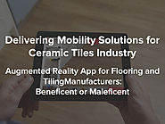 Augmented Reality Flooring App and Tiling App for Ceramic Tiles Industry