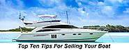 Top Ten Tips For Selling Your Boat – Online Boat Auctions Asia