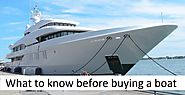 What to know before buying a boat – Online Boat Auctions Asia