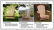 Child Adirondack Chair - Great Outdoor Seating for Little Ones