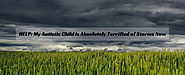 HELP: My Autistic Child is Absolutely Terrified of Storms Now - Autism Parenting Magazine