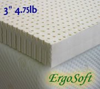 "3"" Natural Latex Mattress Pad Topper - California King"