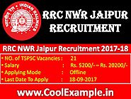 RRC NWR Jaipur Recruitment
