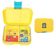 Leakproof Bento Box with Removable 4 Section Tray | Nontoxic, Easy to Clean, for Kids & Adults | 16 Bonus Lunchbox No...