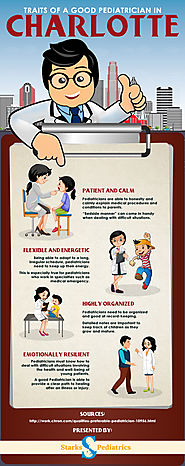 Choosing a pediatrician in CharlotteWhen you choose a pediatrician, you have a look at certain things. The pediatrici...