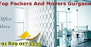 With Packers And Movers In Gurgaon Move Persistently Open To Voyage