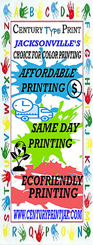 Century Type Print - Jacksonville's Choice for Color Printing
