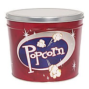 Popcorn Tins And Cans For Christmas Or Any Holiday