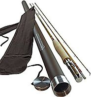 Headwaters Bamboo Fly Rod, Deluxe Series