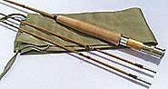 "New Split Tonkin Bamboo Fly Rod,2 Piece 2 Tips ,8'0"" for #6 Line Wt"