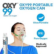 Portable Medical Oxygen Cans: Opt For Optimum Oxygenation - OXY99