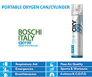 Medical Oxygen Cans: Best for Better Health And Instant Energy - OXY99