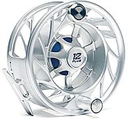 Hatch Outdoors Finatic 12 Plus Reels CLEAR/BLUE MID ARBOR