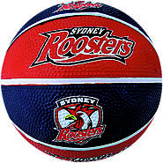 Roosters NRL Supporter Basketball - Sydney, Australia