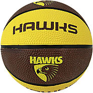 Hawthorn Hawks AFL Basketball Training and Practice Ball