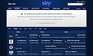 why does google chrome not support sky go