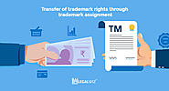 Transfer of trademark rights through trademark assignment