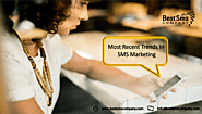 Most Recent Trends In SMS Marketing