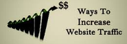 Five ways to increase your website traffic