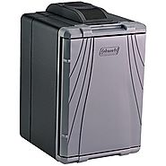 Coleman PowerChill 3000001497 Thermoelectric Cooler with Power Supply (40-Quart), Silver