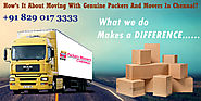 Packers And Movers Give Moving Answers for Your Less Push
