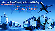 We Should Have A Snappy Take A Gander @ A Portion Of The Choices Of Our Packers And Movers In Chennai