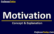 What is Motivation? Meaning ,Characteristics & Explanation