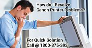 How to Contact at Canon Printer Support Number