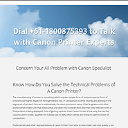 1800875393 Customer Help Number for Canon Printer