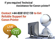 Get Your Canon IP1188 Inkjet Printer Repaired at +44-0808-101-2159 in UK