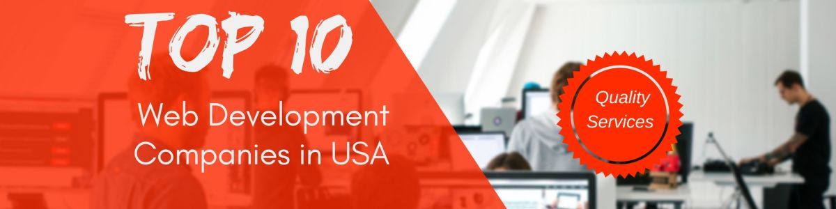 Headline for Top 10 Best Web Development Companies in USA