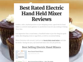 Best Rated Electric Hand Held Mixer Reviews