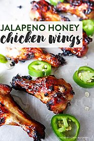 Jalapeno Honey Chicken Wings