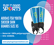 Adidas F50 Youth Soccer Shin Guards - Play It Again